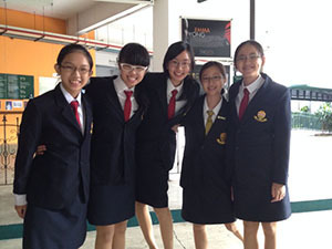 Raffles Debate Academy Under-14 Debate Invitational - Team Members