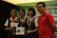 2nd Runner-Up Maze Explorer Senior                     Category - Charissa Wee, Angel Yip and Woo Jie Lyn